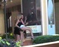 2 lesbian in public - scene 3