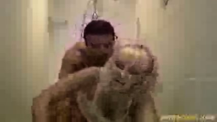 Blonde fucked in the shower - scene 9