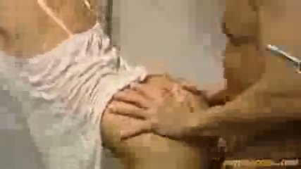Blonde fucked in the shower