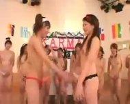 Asian Gym Girls - scene 1