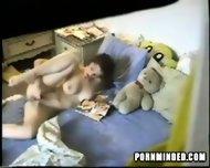 Spycam dildo Teeny - scene 1