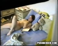 Spycam dildo Teeny - scene 8