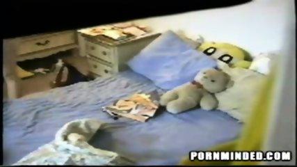 Spycam dildo Teeny - scene 11