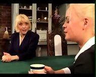 Mature woman shows a younger girl a good time - scene 1