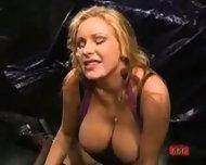Big Boobs Bukakke Bitch - scene 11