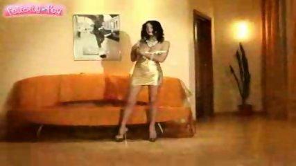 Felicity Fey - golden dress - scene 8
