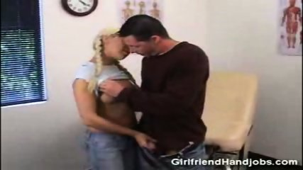 Handjob with a nice girl - scene 2