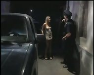 Dumb blonde gets fucked - scene 3