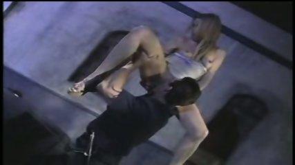 Dumb blonde gets fucked - scene 6