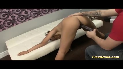 Contortion Doll Fucked By Dildo