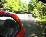 Amateur - Sex in the car - scene 4