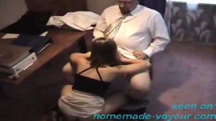 Amateur - Young girl gets it on the desk - scene 7