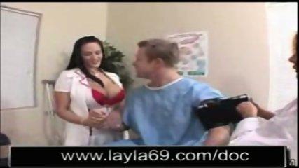 Doctors fucking their patient - scene 1