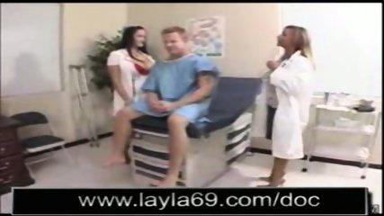 Doctors fucking their patient - scene 2