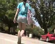 College Girl upskirts #2 - scene 5