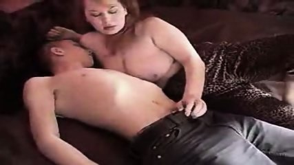 Amateur - Young guy and mature lady - scene 1