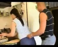 Homemade - Housewife on the counter - scene 1