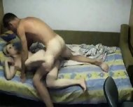 Homemade - Young couple doing it in several positi - scene 11