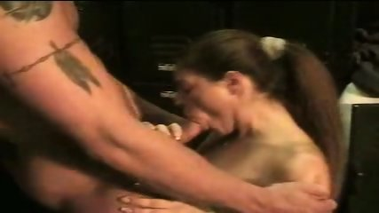 Girl gives coach head in the lockerroom - scene 10