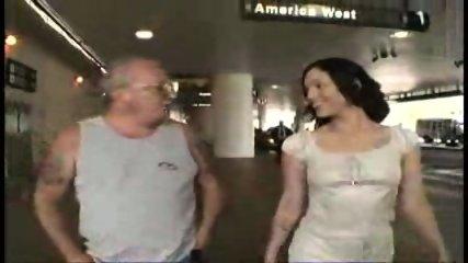 grandpa picking up slut from airport 1 - scene 2