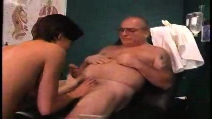 grandpa sucked by nurse in dr s office1 - scene 8
