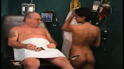 grandpa sucked by nurse in dr s office1 - scene 2