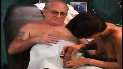 grandpa sucked by nurse in dr s office1 - scene 3