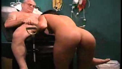 grandpa sucked by nurse in dr s office1 - scene 4