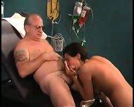 grandpa sucked by nurse in dr s office1 - scene 5