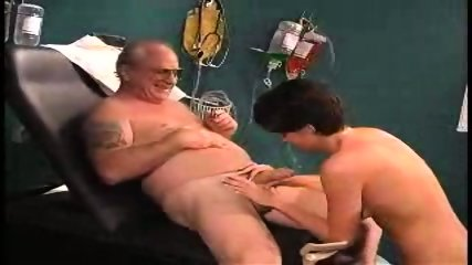 grandpa sucked by nurse in dr s office1 - scene 6
