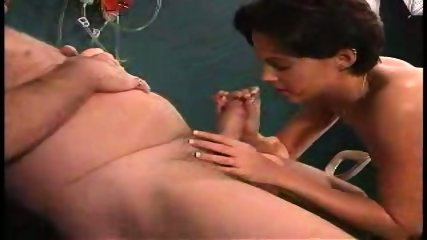 grandpa sucked by nurse in dr s office1 - scene 7