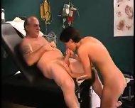 grandpa sucked by nurse in dr s office2 - scene 1