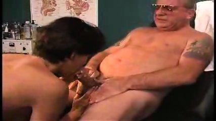 grandpa sucked by nurse in dr s office2 - scene 11