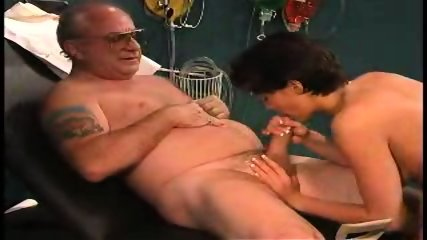 grandpa sucked by nurse in dr s office2 - scene 2