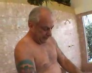 grandpa blown by hot asian girl in shower 2 - scene 6