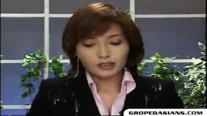 Asian Cum News - scene 9