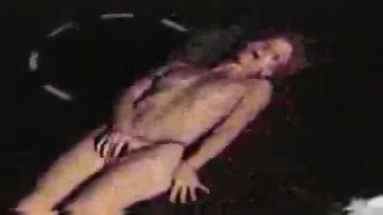 Tramp masturbates on Trampoline - scene 8
