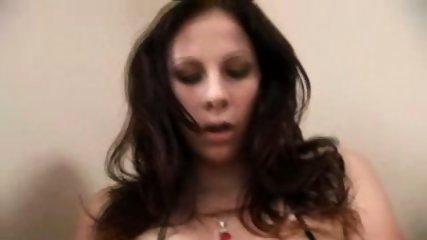 BIG tits babe masturbates SCREAMS during orgasm - scene 1
