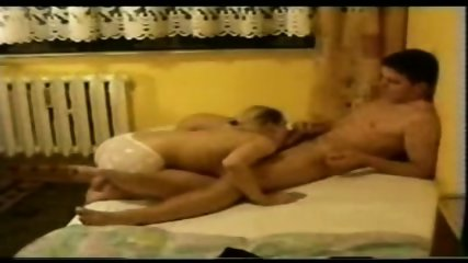 DRUNK college couple go at it on her bed - scene 1