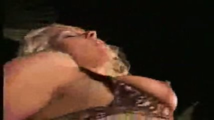 blonde chic fucked HARD on the dancefloor - scene 9