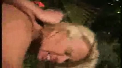 blonde chic fucked HARD on the dancefloor - scene 3