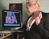 Really Hot Sexy Secretary - scene 3