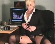 Really Hot Sexy Secretary