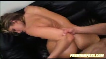 AWESOME blonde chic fucked with size - scene 6