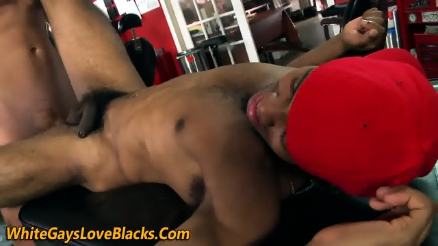Darksome haired sugar daddy likes to jerk off off