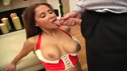 hot wife rio -. xmas cumshot - scene 8