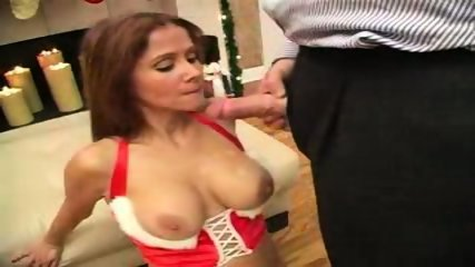 hot wife rio -. xmas cumshot - scene 9