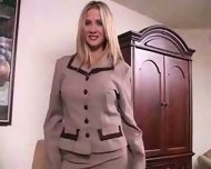hot wife rio blows her boss - scene 1