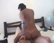 Amateur - Horny brazilian chick shakes and rides - scene 7