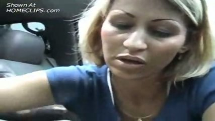 Homemade - Jerkoff in the car - scene 2